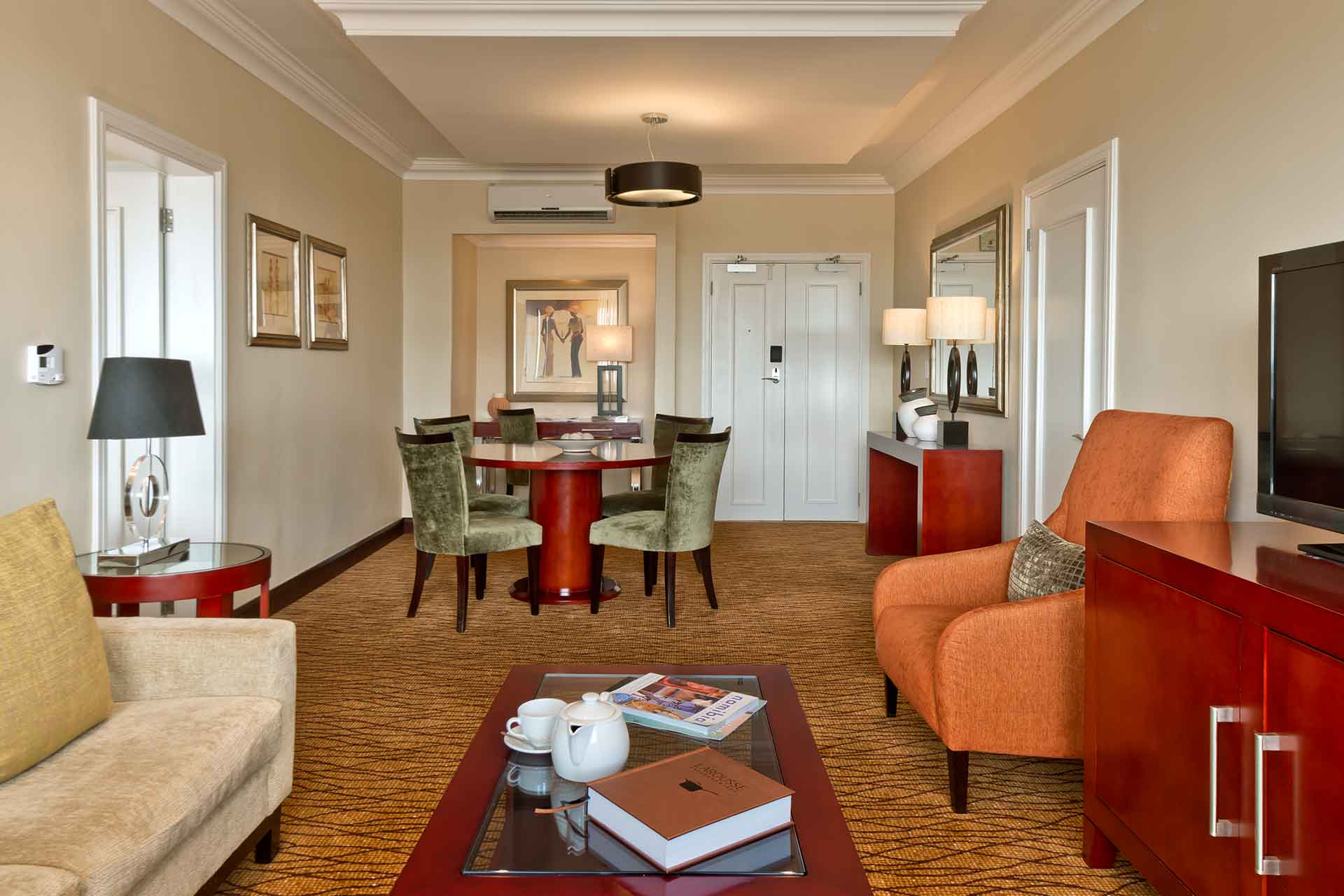 Living room area of AVANI Windhoek Suite