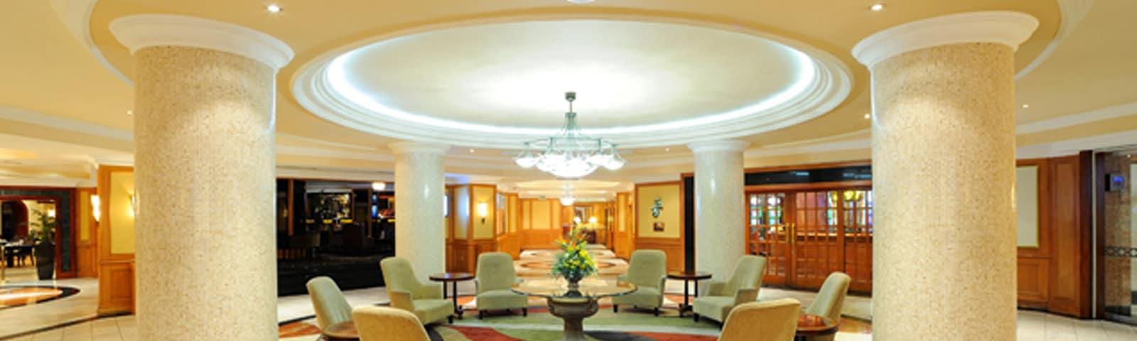 AVANI Windhoek Hotel lobby area